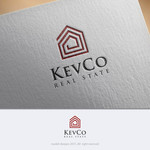 KevCo Real Estate Logo - Entry #9