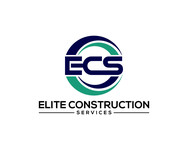Elite Construction Services or ECS Logo - Entry #216