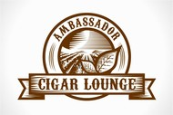Ambassador Cigar Lounge Logo - Entry #38