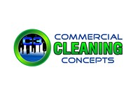 Commercial Cleaning Concepts Logo - Entry #109