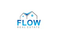 Flow Real Estate Logo - Entry #62