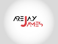arejay james Logo - Entry #22