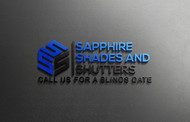 Sapphire Shades and Shutters Logo - Entry #38