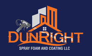 Dun Right Spray Foam and Coating LLC Logo - Entry #88