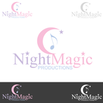 Night Magic Productions Logo - Entry #39