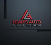 Leah's auto & nail lounge Logo - Entry #89