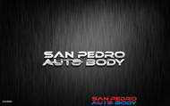 San Pedro Auto Body Logo - Entry #4