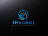 The Debt What If Calculator Logo - Entry #125
