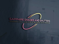 Sapphire Shades and Shutters Logo - Entry #189