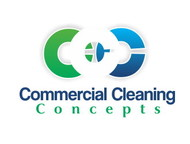 Commercial Cleaning Concepts Logo - Entry #75
