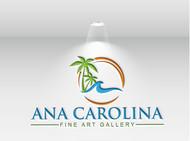 Ana Carolina Fine Art Gallery Logo - Entry #160