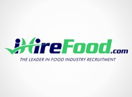 iHireFood.com Logo - Entry #89
