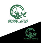 Green Wave Wealth Management Logo - Entry #106