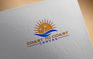 coast to coast canvas Logo - Entry #111