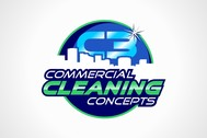 Commercial Cleaning Concepts Logo - Entry #116
