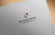 Revolution Fence Co. Logo - Entry #383