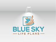 Blue Sky Life Plans Logo - Entry #125