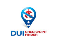 DUI Checkpoint Finder Logo - Entry #22
