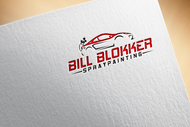 Bill Blokker Spraypainting Logo - Entry #86