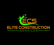 Elite Construction Services or ECS Logo - Entry #310