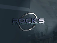 Rock's AC and Electrical Services, L.L.C. Logo - Entry #12