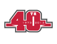40th  1973  2013  OR  Since 1973  40th   OR  40th anniversary  OR  Est. 1973 Logo - Entry #39