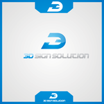 3D Sign Solutions Logo - Entry #172