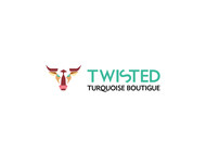 Twisted Turquoise Boutique Logo - Entry #121