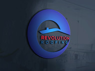 Revolution Roofing Logo - Entry #319
