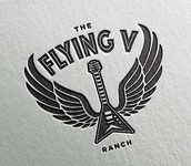 The Flying V Ranch Logo - Entry #27