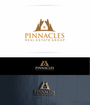Pinnacles Real Estate Group  Logo - Entry #32