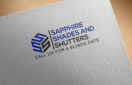 Sapphire Shades and Shutters Logo - Entry #39