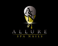 Allure Spa Nails Logo - Entry #12