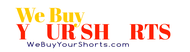 We Buy Your Shorts Logo - Entry #87