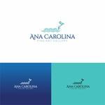 Ana Carolina Fine Art Gallery Logo - Entry #42