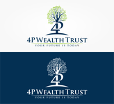 4P Wealth Trust Logo - Entry #185