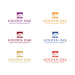 Golden Oak Wealth Management Logo - Entry #108