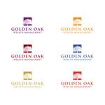 Golden Oak Wealth Management Logo - Entry #108