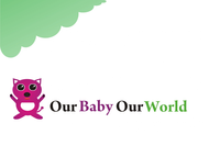 Logo for our Baby product store - Our Baby Our World - Entry #15