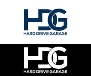 Hard drive garage Logo - Entry #4