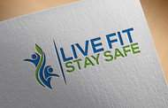 Live Fit Stay Safe Logo - Entry #29