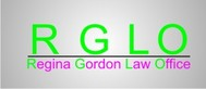 Regina Gordon Law Office  Logo - Entry #16