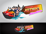 Chicago Jet Ski Adventures Logo - Entry #64