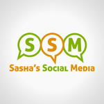 Sasha's Social Media Logo - Entry #130