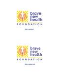 Brave New Health Logo - Entry #60