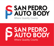 San Pedro Auto Body Logo - Entry #1