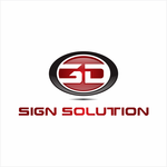 3D Sign Solutions Logo - Entry #32