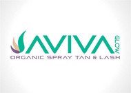AVIVA Glow - Organic Spray Tan & Lash Logo - Entry #117