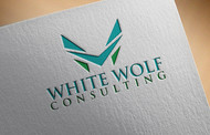 White Wolf Consulting (optional LLC) Logo - Entry #454