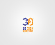 3D Sign Solutions Logo - Entry #112